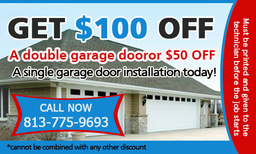 Garage Door Repair Riverview Coupon - Download Now!
